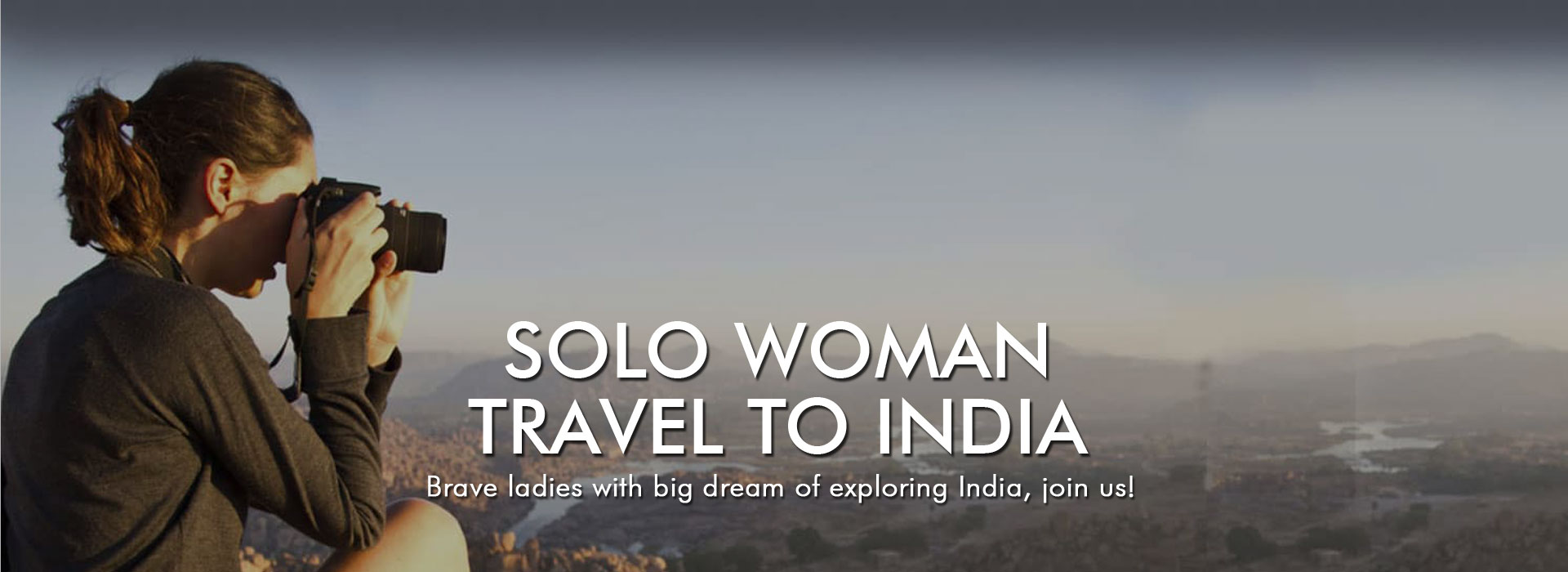 Best Solo Travel Packages India for women