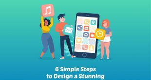 Design a Stunning Mobile Application