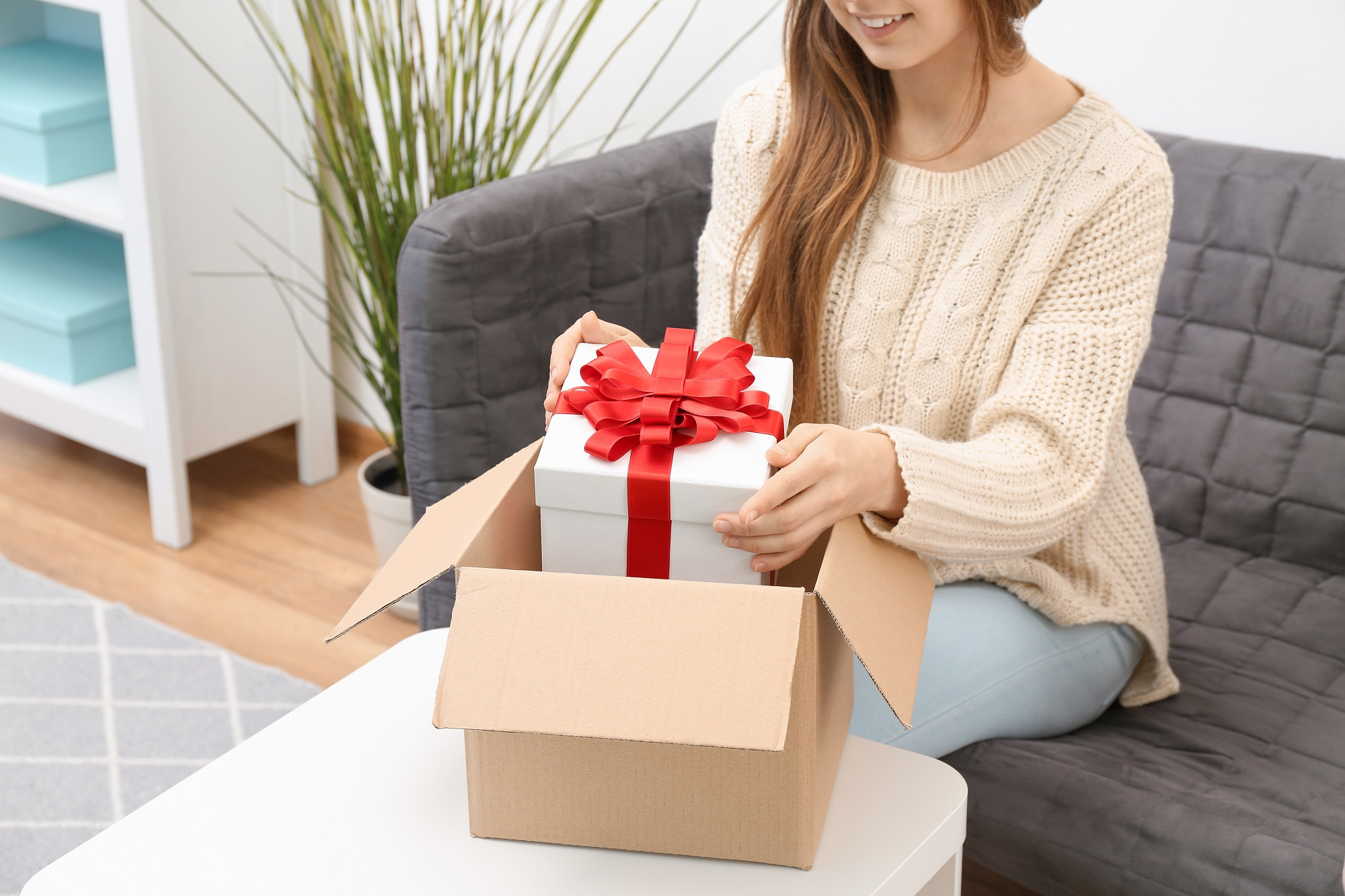 Choose gift boxes
