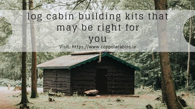 log cabin building kits