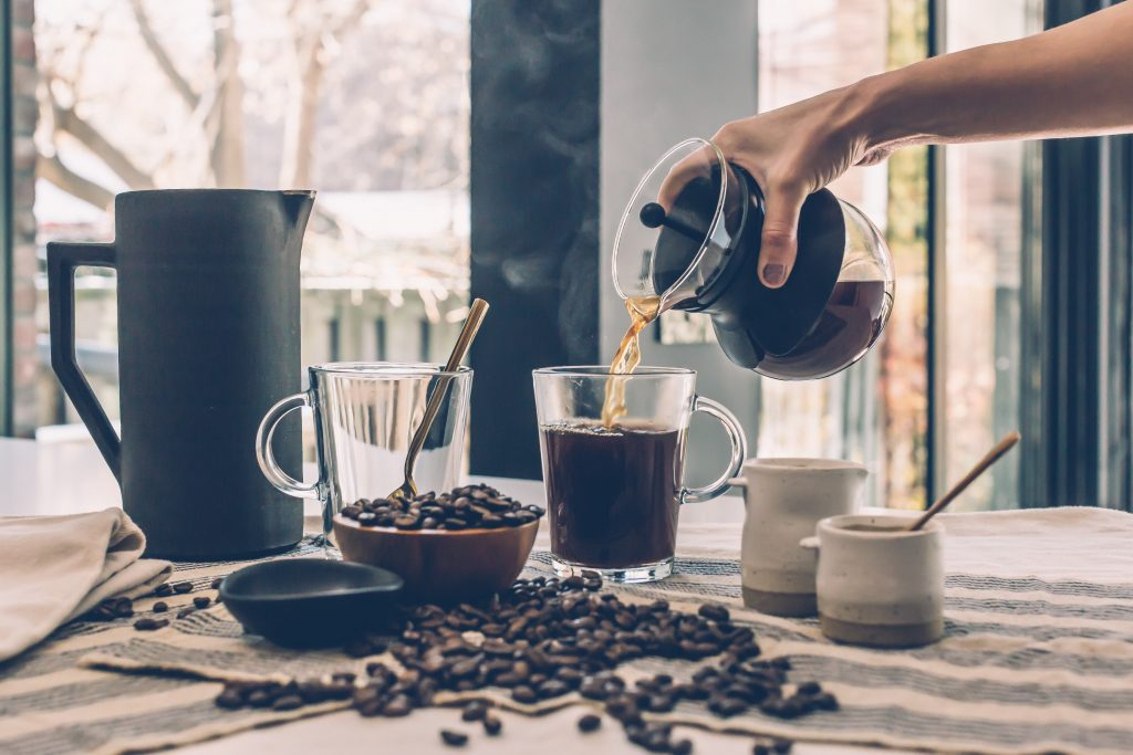how to make strong coffee
