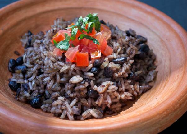Beans and Rice Costa Rican