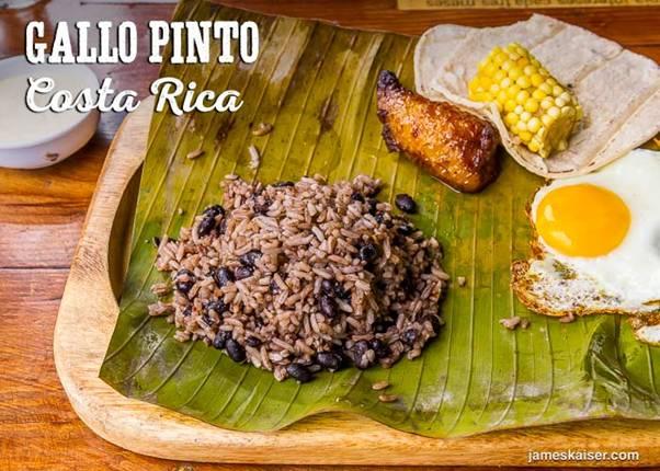Costa Rica Food Staple Food