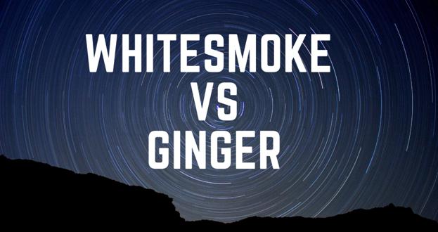WhiteSmoke vs Ginger