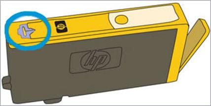 • Examine the vent house positioned on most sensible of the ink cartridge