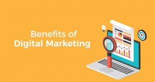4 Major Benefits of Digital Marketing