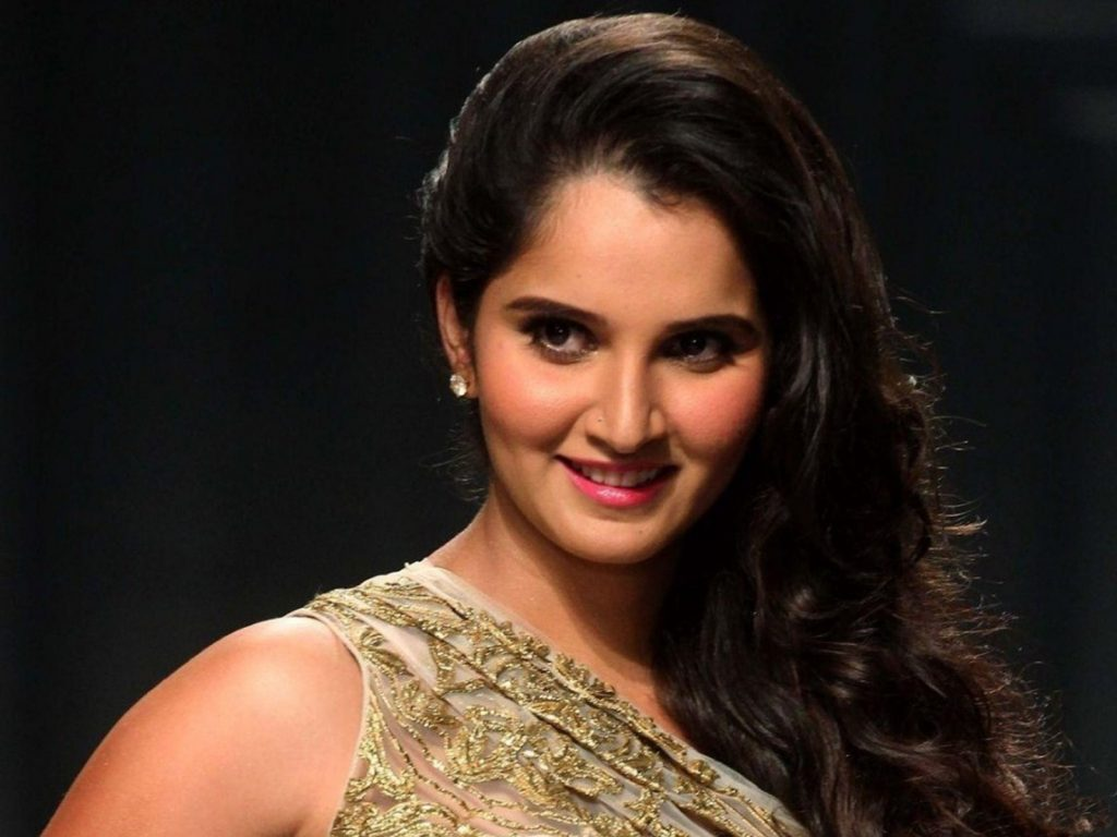 Sania mirza sweet picture