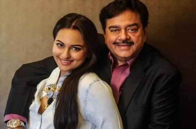 Sonakshi Sinha with her father