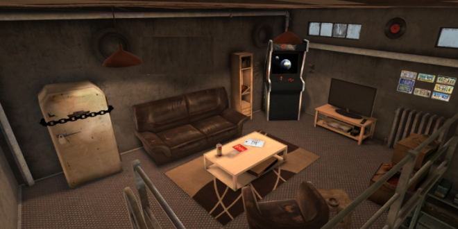VR escape room games