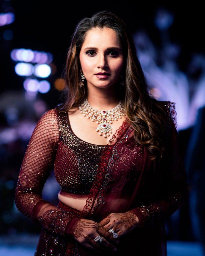 beautiful Sania mirza