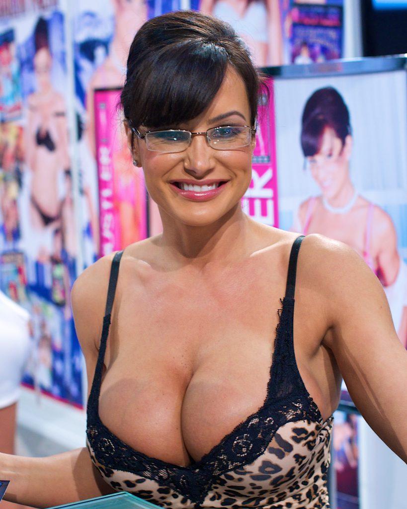 lisa ann breast