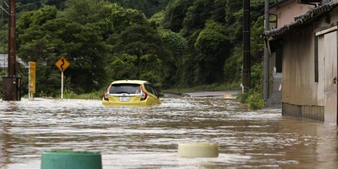 Flood in Japan