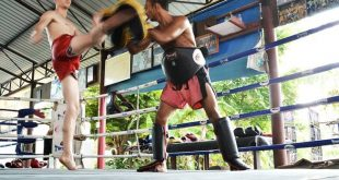 Holiday at a Muay Thai camp