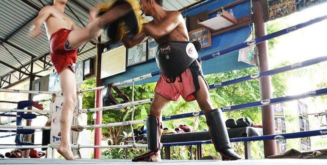 Holiday at a Muay Thai camp