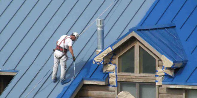 Painting Metal Roof