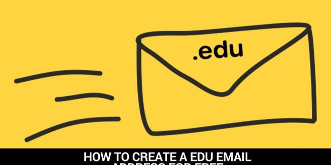 How to Create .edu email for Free