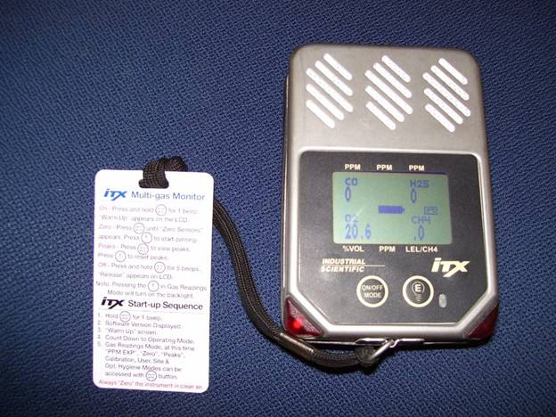 Install gas detectors in your home