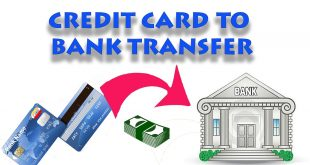 Transfer Money from Credit Card to a Bank Account