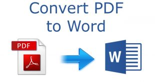 PDF converter to word