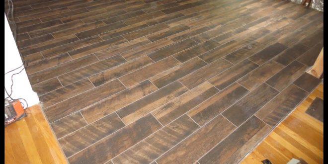 Snap-Together Tile Flooring