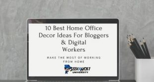 10 Best Home Office Decor Ideas For Bloggers & Digital Workers