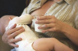 Breastfeeding a Baby