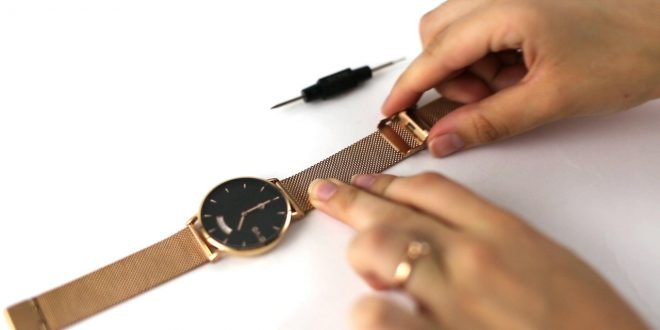 Tighten Your Watch Band
