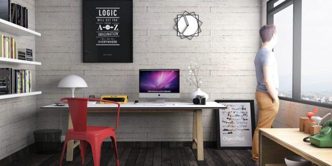 Inspiring Office Workspace